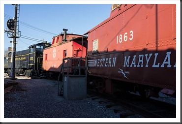 Hagerstown Roundhouse - Train