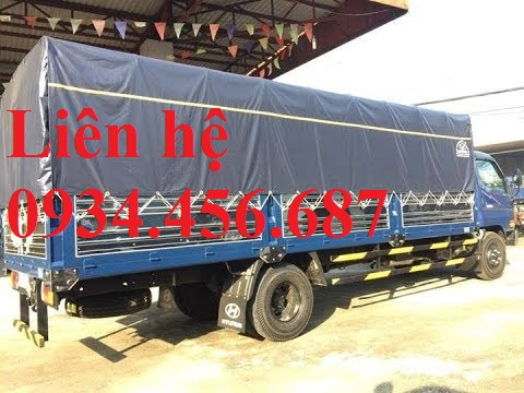 Hyundai HD110sl thùng bạt dài 6m2