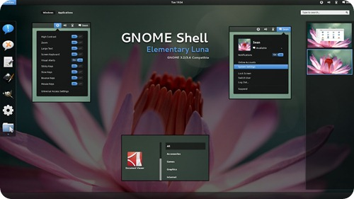 Gnome Shell Theme Ubuntu