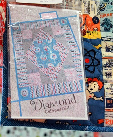 Diamond Centerpiece Quilt pattern