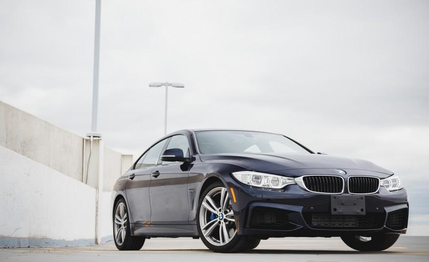 Ngoại thất xe BMW 420i Gran Coupe new model 01