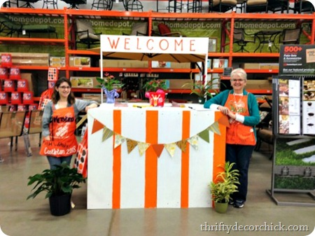 home depot do it herself workshop