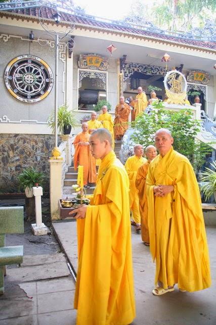 IMG 1682 Đại lễ Phật đản PL 2557 tại Tu viện Quảng Hương Già Lam