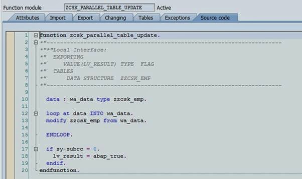 Parallel processing in ABAP - Team ABAP