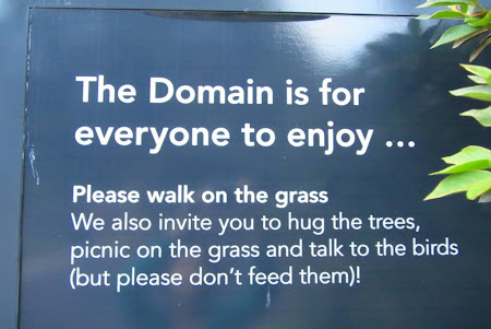 Imagini Australia: Sydney un oras care te incurajeaza sa vorbesti cu pasarile.