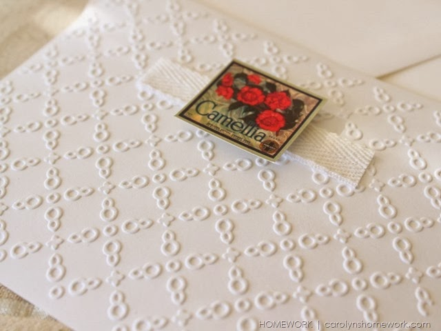 Lifestyle Crafts Embossed Valentine Cards via homework | carolynshomework.com