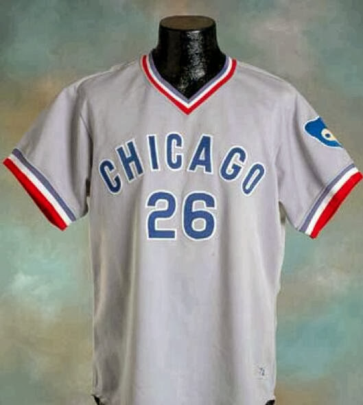 huge selection of 4775c 9cb02 The Ultimate Baseball Look: 1972 Chicago Cubs road jersey