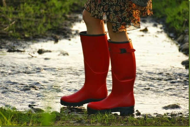 Gumleaf clothing Norse wellies