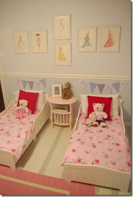 Refreshingly Chic Girls Bedroom