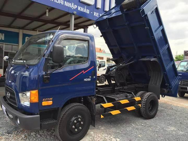 Xe ben Hyundai HD99 5 tấn