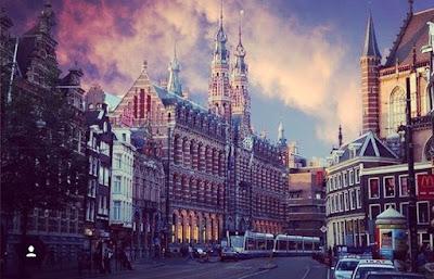 Beautiful sky in beautiful Amsterdam pic by misha11belinkov amsterdam2016 passio