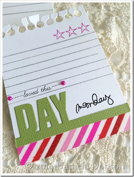 Loved this day story card by Daniela Dobson