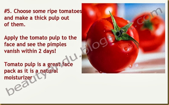 Natural Remedy For Pimple Breakout