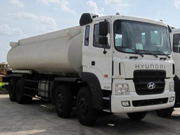 Xe téc Hyundai 19 tấn 4 chân