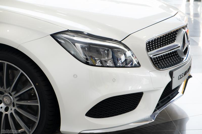 Xe Mercedes Benz CLS500 New Model màu trắng 03