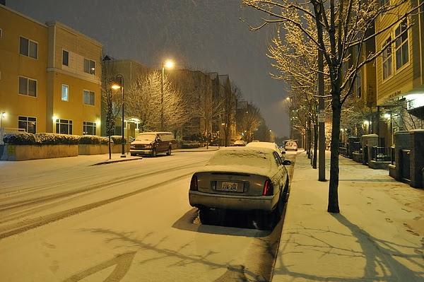 冬天偶爾飄點雪