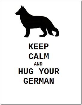 keep calm german