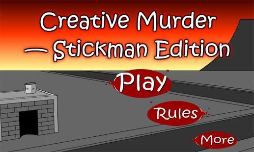 Stickman Creative Murder