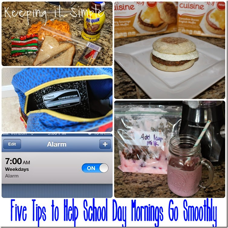 #shop 5-tips-to-help-make-school-day-mornings-go-smoothly #FoodMadeSimple