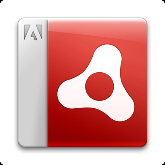 adobe air beta logo trasp