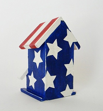 All-American Birdhouse Back View Final