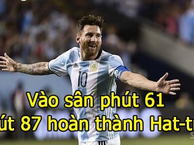 Argentina vẫn sống tốt khi không có Messi :3