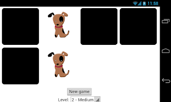 Screenshot of memory games for toddlers