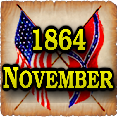 1864 Nov Am Civil War Gazette