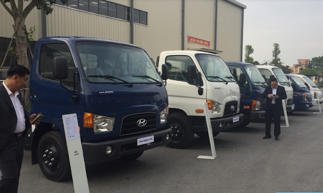 Hyundai 75s new mighty 3.5 tan thanh cong