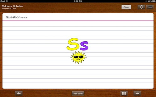 FlashCards To Go Lite- screenshot thumbnail