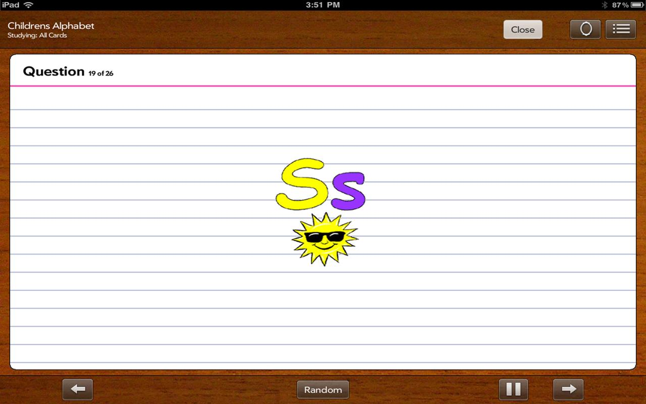 FlashCards To Go Lite- screenshot