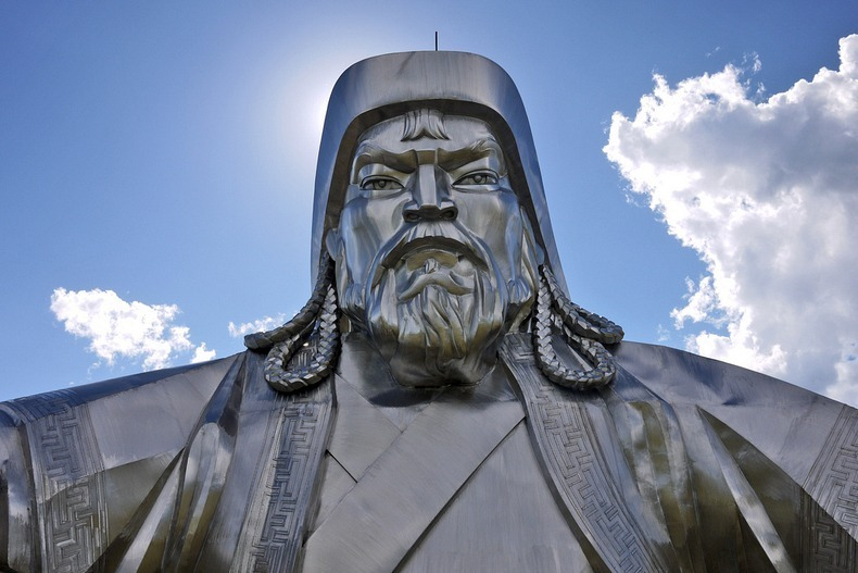 Enormous Statue Of Genghis Khan In Mongolia Amusing Planet