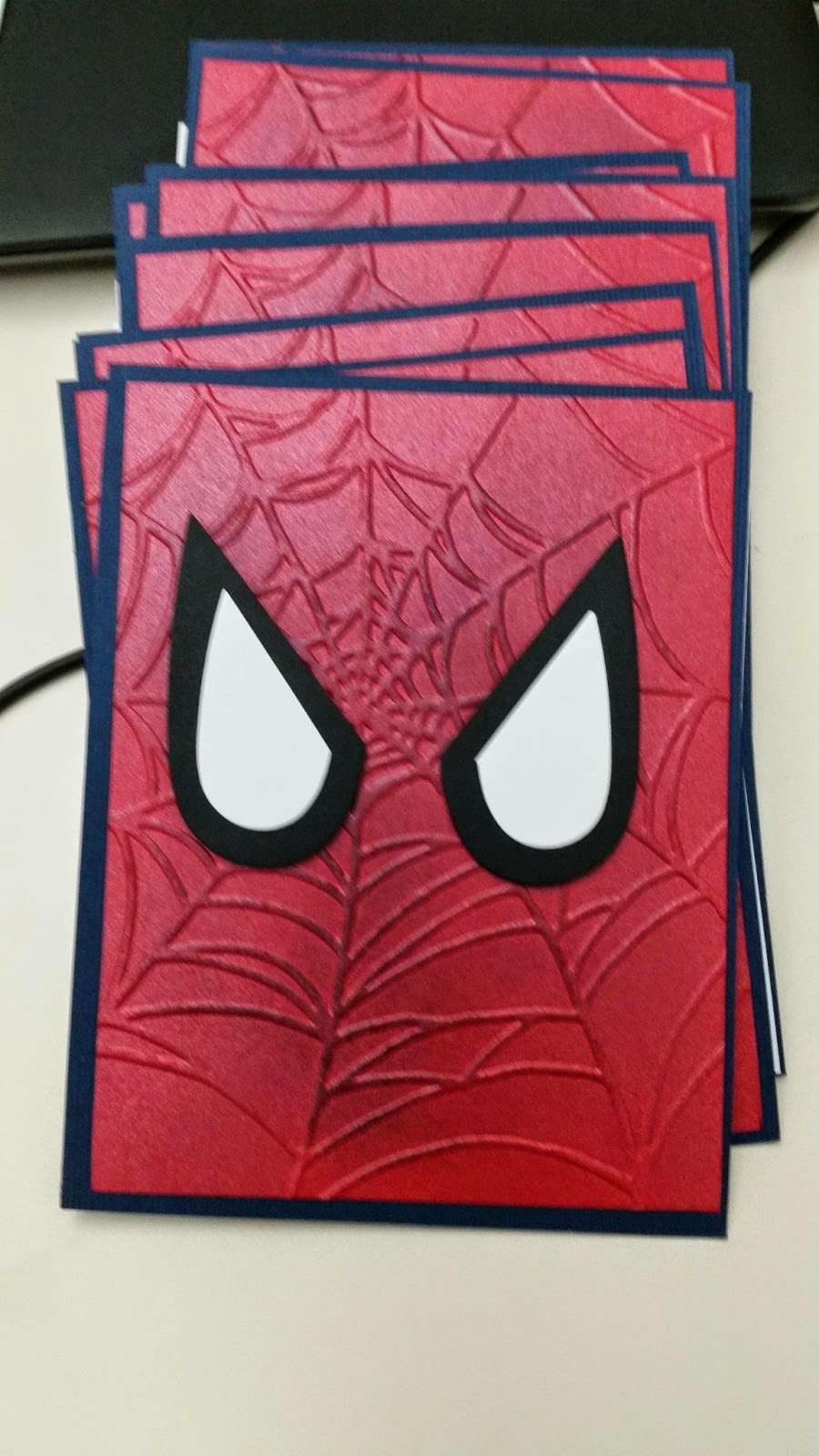 Sharon It With You Spider Man Invites And Thank You Cards