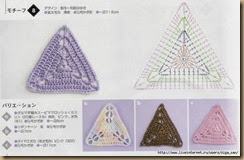 crochet triangle twenty-six