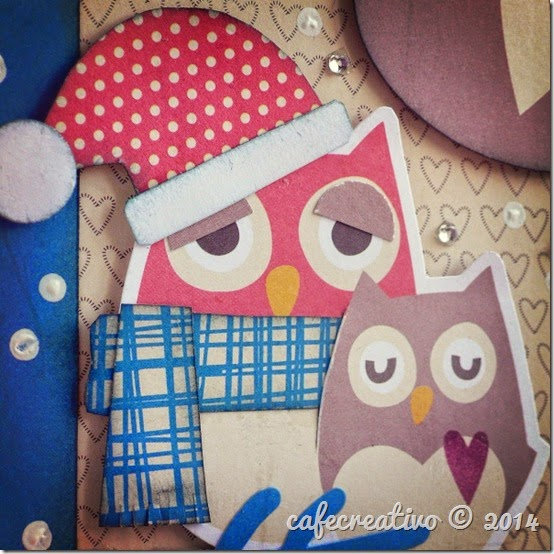 cafe creativo - christmas - winter - owl - home decor