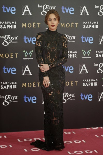 Megan Montaner attends Goya Cinema Awards