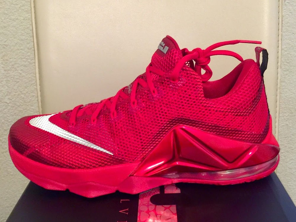 6d39aeda2974 ... Nike LeBron 12 Low Red Makes a Surprising Debut at Footlocker ...