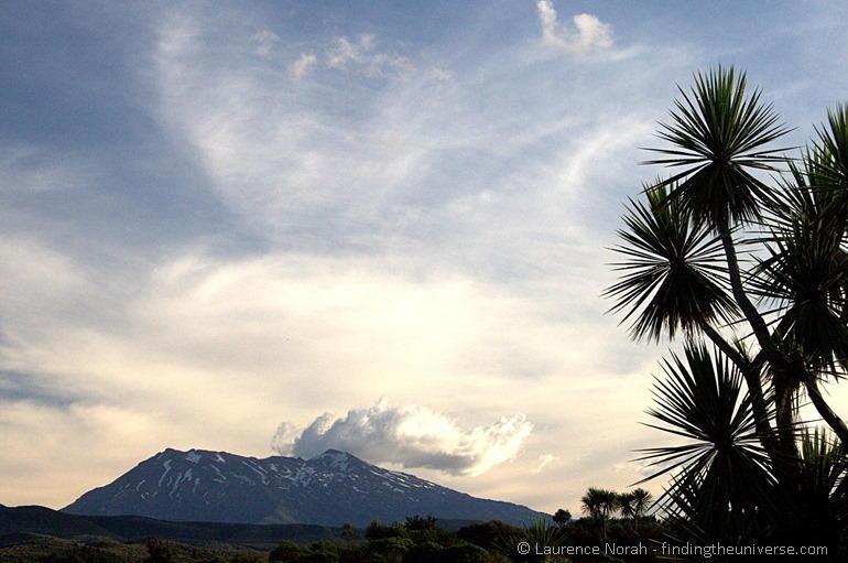 Sunset over Mount Ruapehu