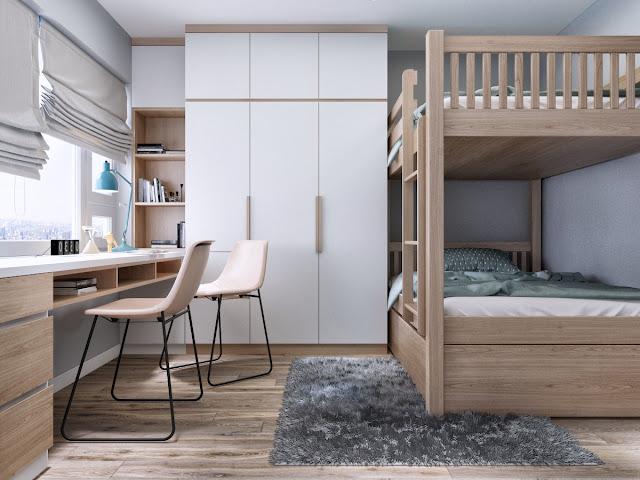 phòng ngủ trẻ em hanoi landmark 51