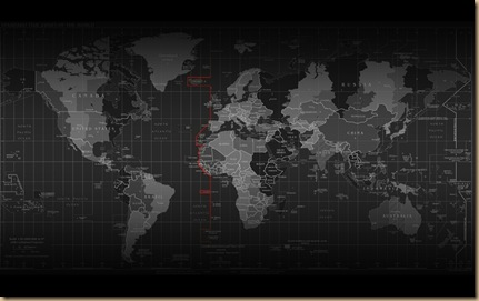 dark world maps countries atlas time zones world map cities 1920x1200image