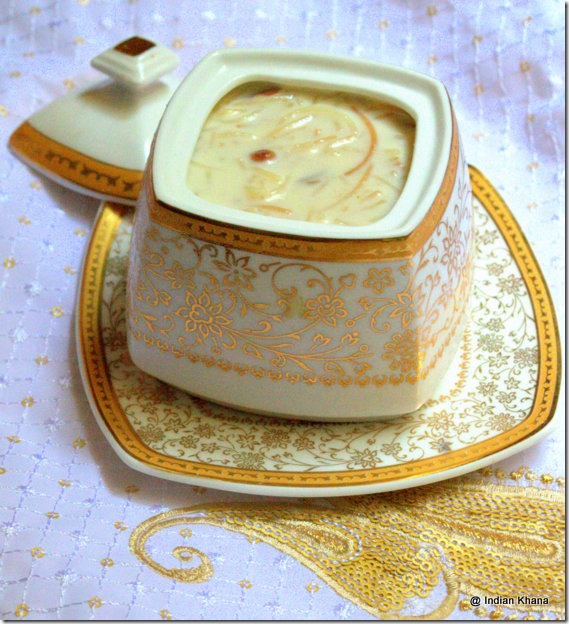 Easy Seviyan Kheer Semiya Payasam Vermicelli  pudding recipe