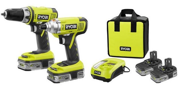 RYOBI Cordless Drill and Impact Driver Kit {Sawdust & Embryos}