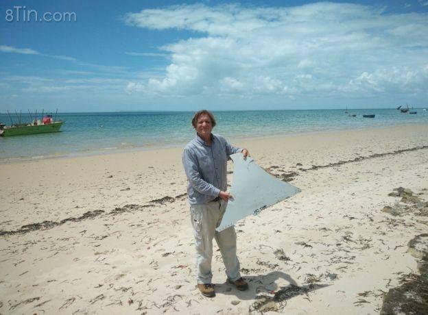Mảnh kim loại dài 1 mét 'có khả năng từ MH370' được