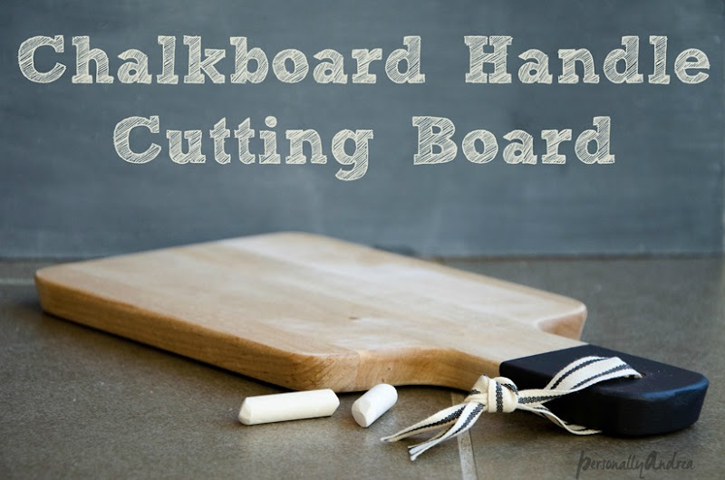 Chalkboard Handle Cutting Board Cover (1 of 1)