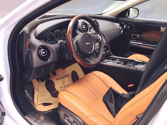 Nội thất xe Jaguar XJL Premium Luxury LWB 07