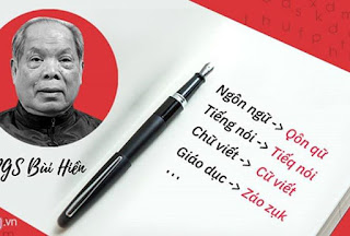Cách cải tiến tiếng Việt của PGS-TS Bùi Hiền nhận về nhiều ý kiến phản đối.