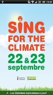 Sing for the climate FR - screenshot thumbnail