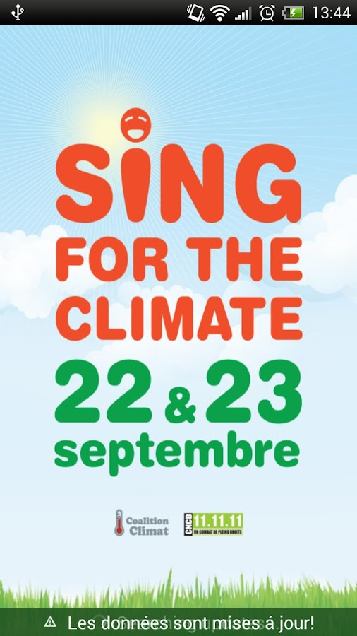 Sing for the climate FR - screenshot