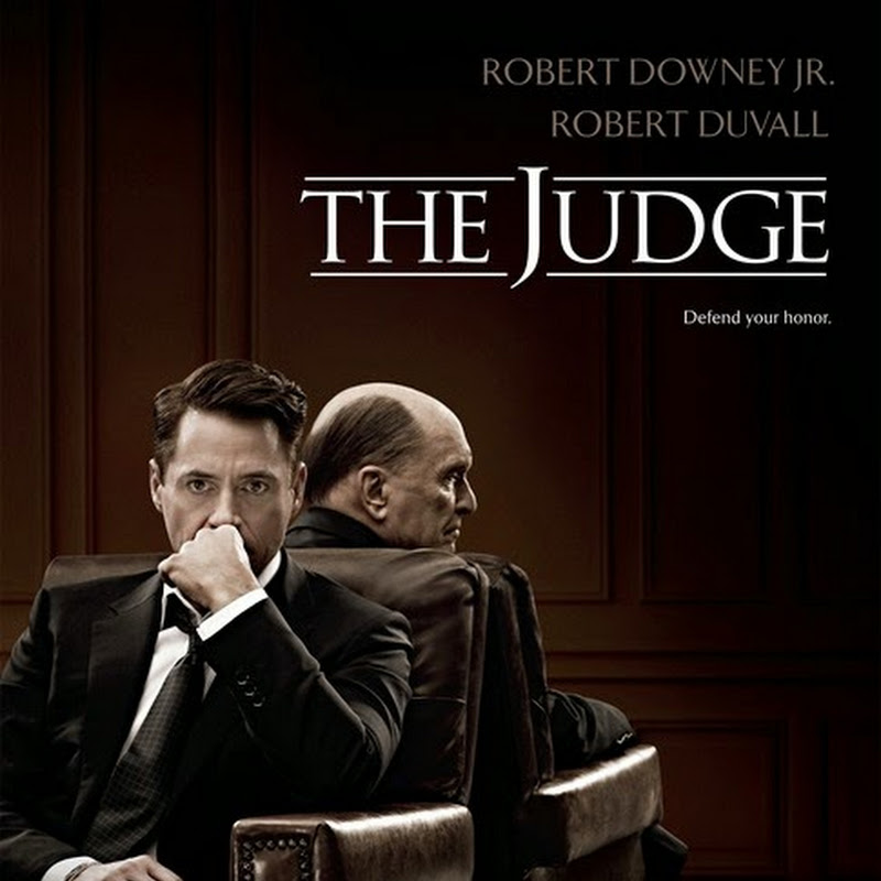 "Downey's ""The Judge"" Orders Poster, Teaser Trailer"