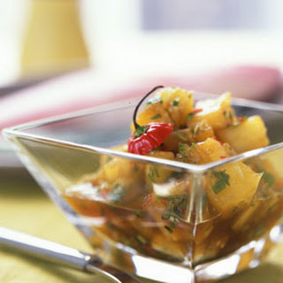 Pineapple Habanero Salsa.